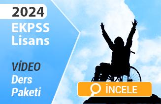 2022 E-KPSS lisans kayılı video paketi incele